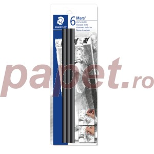 Carbune desen negru intens Staedtler 3/blister STH-2490-SBK-2