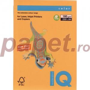 Hartie IQ A4 160g (sun yellow) SY40/160