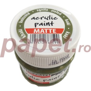 Culoare acrilica mata 50ML Khaki P1901/6