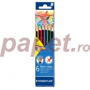 Creioane colorate Staedtler Noris 6 culori / set ST-185-C6