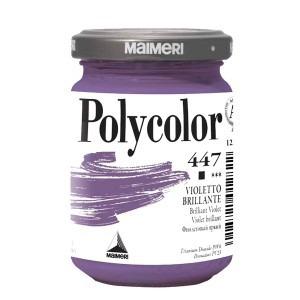 Culoare acrilica Maimeri polycolor 140 ml brilliant violet 1220447
