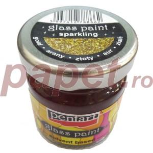 Solvent pentru culorile de sticla 30ML Sparkling Gold P10626