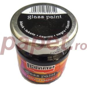 Culori sticla sau vitraliu 30ML Black P0784