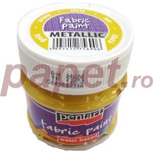 Culori metalizate pt.textile 50ML Auriu P6256