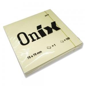 Notes adeziv 75x75 Onix E1821