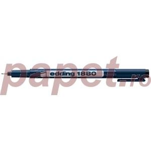 Fineliner Edding 1880 0.4MM negru ED188041