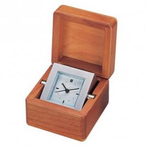 Ceas in cutie lemn de cires 5074DJY