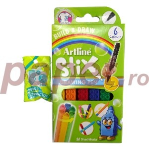 Liner Artline Stix 0.5 mm 6 bucati / set 9830