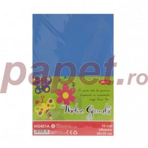Hartie gumata Daco 20x30CM 10coli/10culori HG402