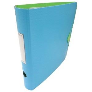 Biblioraft Leitz 65MM albastru deschis/verde L11170030