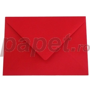 Plic Daco C6 gumat color rosu christmas PC612R