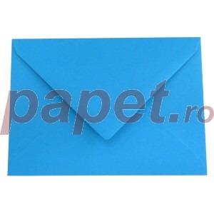 Plic Daco C6 gumat color albastru inchis PC612A