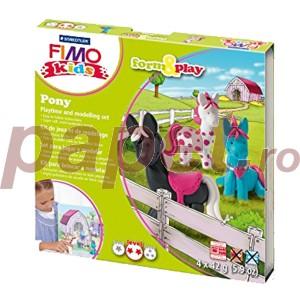 Set Staedtler modelaj fimo kids poney STH-8034-08