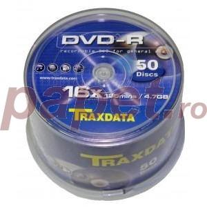DVD+R Traxdata 16X 4.7gb 50buc/box 3493