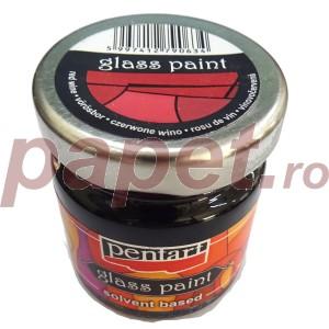 Culori sticla sau vitraliu 30ML Red Wine P25111
