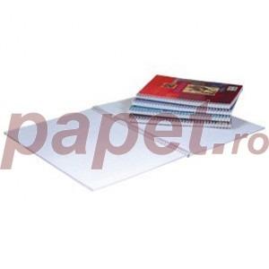 Caiet spira dubla A4 100 file matematica / dictando E2028