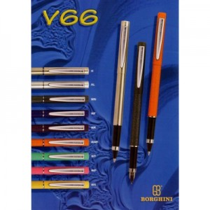 Stilou Borghini v66 diverse culori