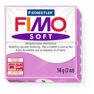 Lut polimeric Fimo Soft pentru modelaj 8020-Lavender