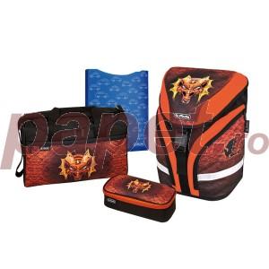 Ghiozdan echipat Herlitz Motion Plus Motiv Dragon 50007677