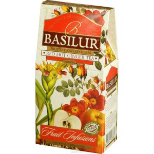 Ceai Basilur red hot ginger refill C70880