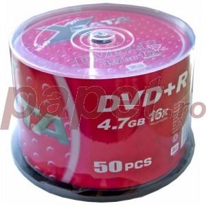 DVD+R X-data 16X 4.7GB 50 bucati / box 4606