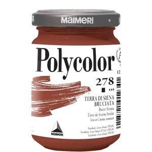 Culoare acrilica Maimeri polycolor 140 ml burnt sienna 1220278
