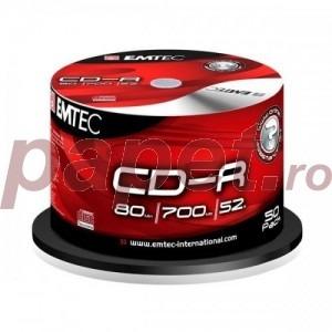 CD-R EMTEC 52X 50/BOX EMT10003