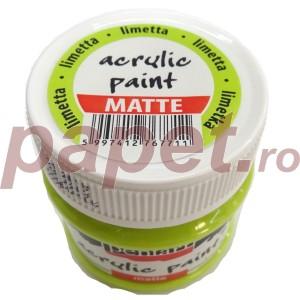 Culoare acrilica mata 50ML Limetta P1017/3