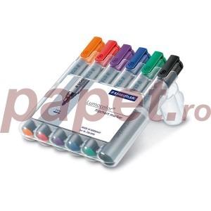 Marker flipchart Staedtler 6 culori / set ST356WP6