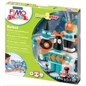 Set Staedtler modelaj fimo kids robotii STH-8034-03