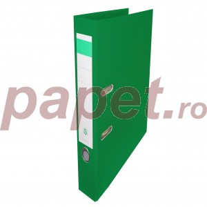 Biblioraft plastifiat Papet 5cm verde E564024