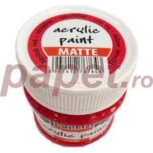 Culoare acrilica mata 50ML Lipstick Red P113117