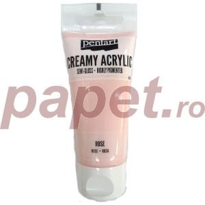 Acrylic color creamy semi-gloss 60ML Rose P27970