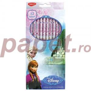 Creion color 12 culori Daco Frozen CC012FRZ