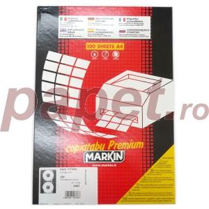 Etichete autoadezive CD 2/A4 Markin E8550CD