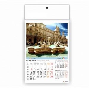 Calendar 2017 policromie A3 capitale 9001