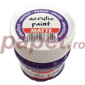 Culoare acrilica mata 50ML Amethyst P1901/5