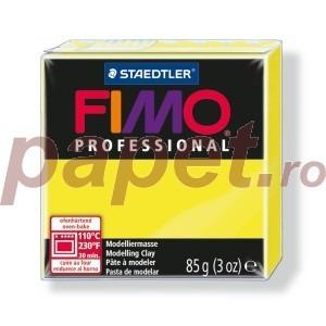 Lut polimeric Fimo Professional pentru modelaj STH-8004-Lemon
