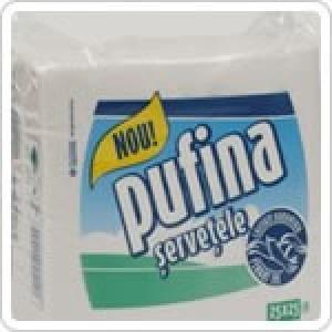 Servetele Pufina 30 x 30 cm 100 bucati / set 2914