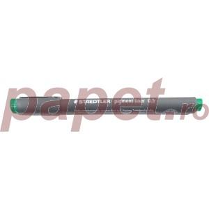 Pigment Liner 05mm Staedtler verde ST-308-05-5