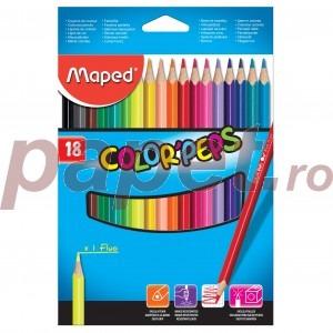 Creioane colorate Maped 18 culori / set M183218