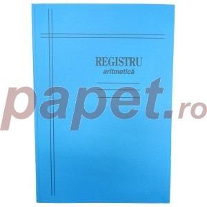 Registru A4-cartonat 100 file mate/dictando