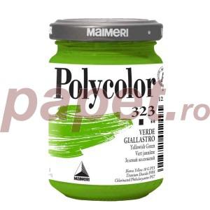 Culoare acrilica Maimeri polycolor 140 ml yellowish green 1220323