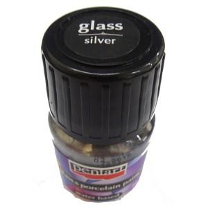 Culori sticla/portelan sau ceramica 30ML Silver P21349