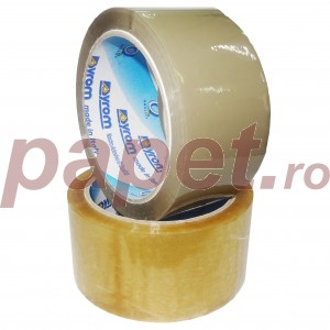 Banda adeziva Syrom 48mm x 66m transparent 13344